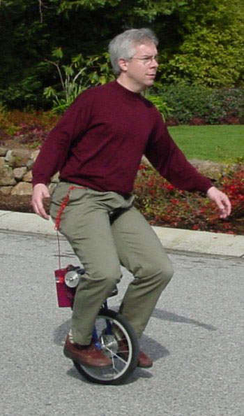 Self-Balancing Unicycles