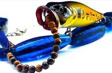 Jewelry from Fishing Gear - BodyFishing Necklaces Lure the Looks