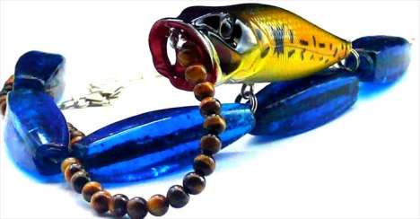 Jewelry from Fishing Gear