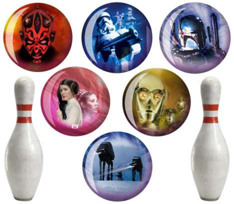Sporting Goods for Geeks - Star Wars Bowling Balls