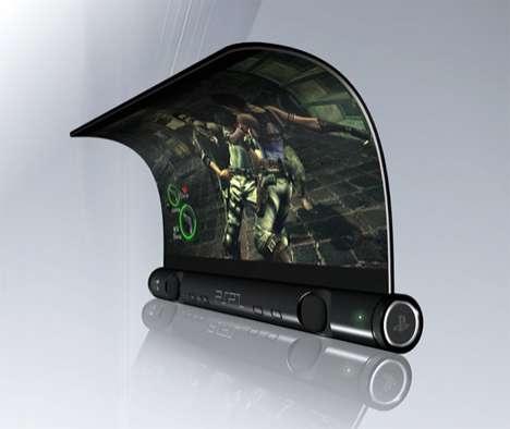 OLED Scroll Gaming