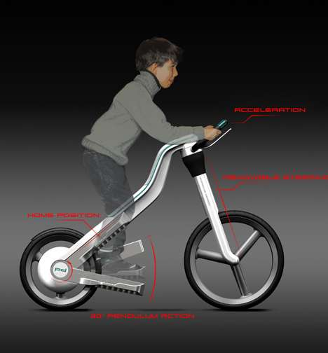 Stair Stepping Bicycles