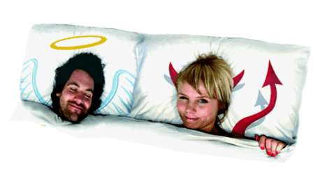 Cheeky Frame Cushions - Pop Pillows