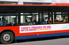 Guerrilla Anti-Religion Campaigns - UK Atheist Busvertising
