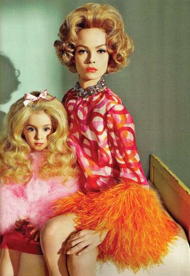 Retro Mom Photo Shoots -  'Mommie Dearest' in Numero Magazine