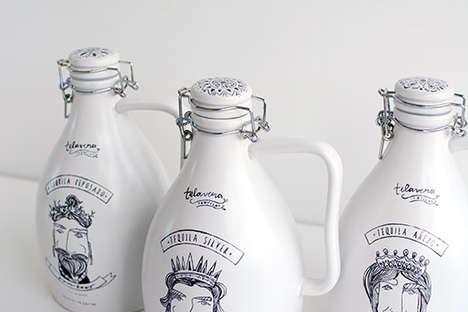 Sketched Ceramic Branding