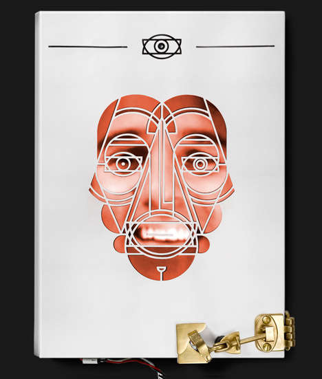 Judgmental Book Covers - This Book Sleeve Scans Faces to Determine Levels of Prejudice