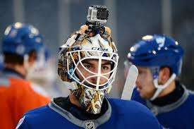 Hockey Player-Mounted Cameras