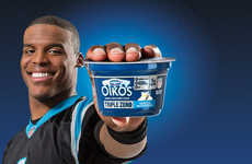Protein-Packed Yogurts - Dannon Oikos Triple Zero is Being Touted as the Official Yogurt of the NFL
