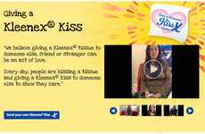 Loving Video Campaign Giveaways - With Kleenex Kiss You Can Upload a Video to Show How Much You Care
