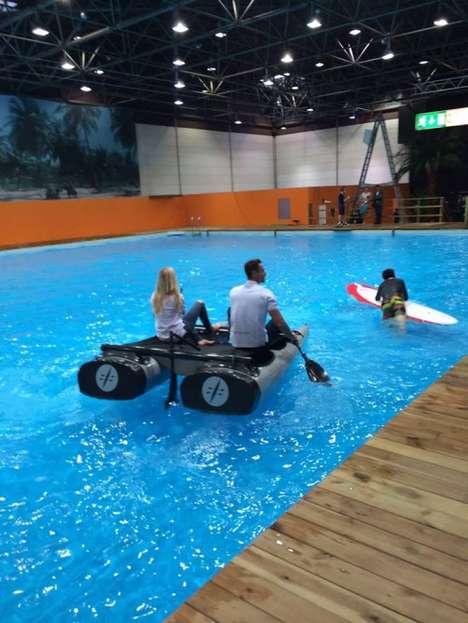 Modular Backpack Watercraft