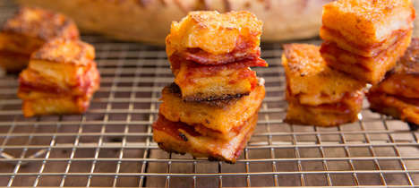 Homemade Pizza Croutons