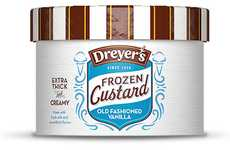 Custard Ice Creams - Dreyer's Frozen Custard Ice Cream Adds a Chill to a Classic Dessert