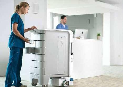 Autonomous Hospital Robots