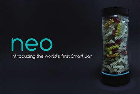 Smart Storage Jars