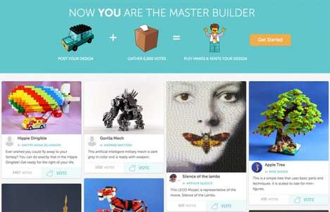 Crowdsourced Toy Platforms