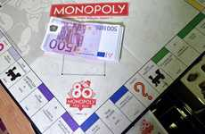 Board Game Jackpots - Hasbro France Replaces Monopoly Money with Real Bills in 80 Regular Sets