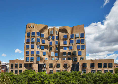Paper Bag Buildings - Frank Gehry's Beautiful UTS Business School Looks Like a Scrunched Lunch Sack