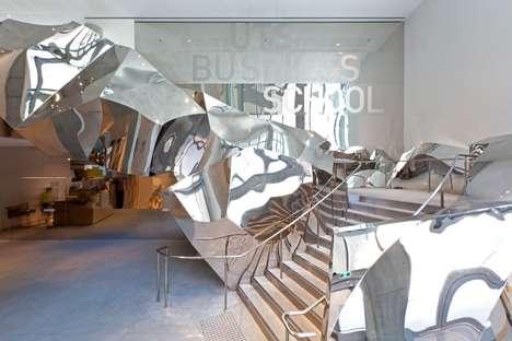 Crumpled Paper Bag Buildings