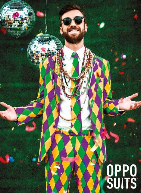 Festive Mardi Gras Suits