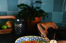 Winter Guacamole Dips - This Seasonal Guacamole Recipe Includes Butternut Squash and Poached Pears