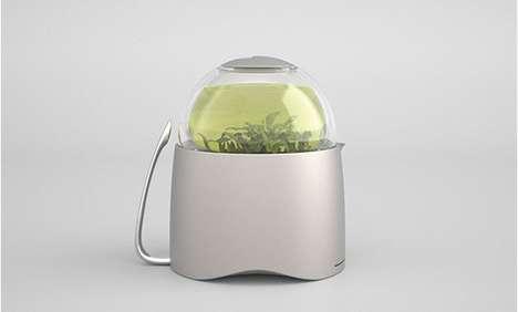 Dew Drop Teapots