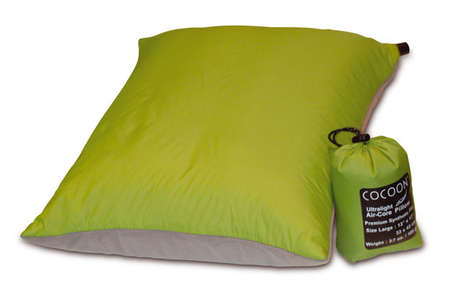 Collapsible Travel Pillows - Cocoon's Car Travel Pillow Shrinks to the Size of a Baseball
