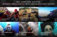 Adventure-Capturing Campaigns - Marriott Lends Out GoPro Travel Cameras for Guests to Try
