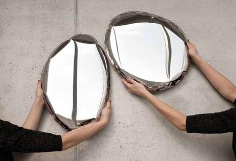 Sculptural Looking Glasses