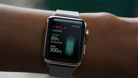 Smartwatch Car Apps