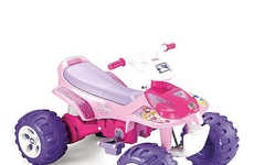 Princess-Themed Power Vehicles - The Power Wheels Fisher-Price Disney Princess Trailrider is Girly