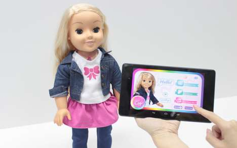 Internet-Connected Dolls - My Friend Cayla is a Toy That Has Smart Conversations with Kids