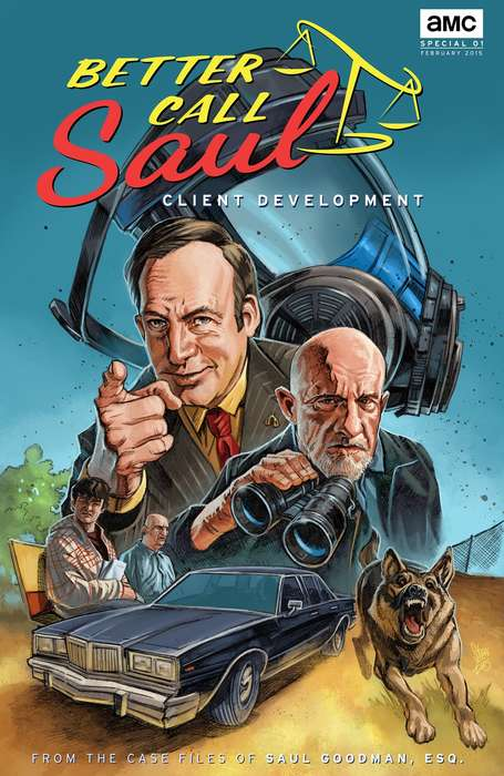 TV Show Comic Books - 'Better Call Saul' Released as a Digital Comic Ahead of Series Premier