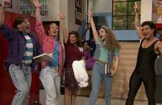 Viral 90s Sitcom Reunions - The Jimmy Fallon Saved by the Bell Reunion is Nostalgic