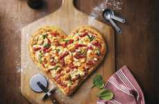 Heart-Shaped Pizzas - Boston Pizza's Valentine's Day Special Raises Money for Charity