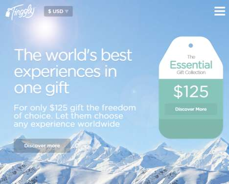 Experiential Gift Services - Tinggly Lets Your Recipient Choose the Gift They Want to Get