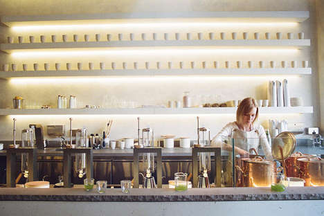 Artisanal Tea Bars - Samovar's San Francisco Location Seeks to Elevate the Tea-Drinking Experience