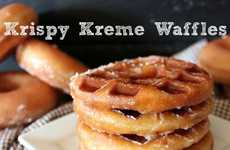 Hybrid Waffle Donuts - These Krispy Kreme Waffles Make for the Sweetest Breakfast of All Time