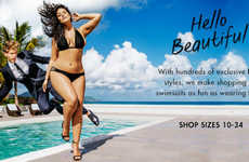 Full-Figured Swimsuit Ads
