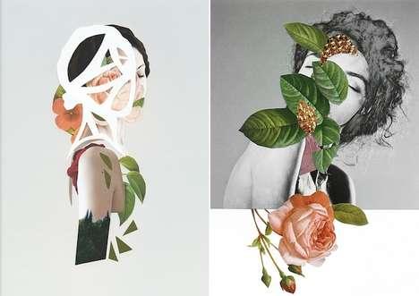 Captivating Botanical Collages