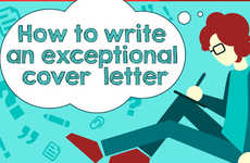Job Application Guides - Global Essays's Cover Letter Writing Tips Exist in Infographic Form