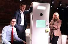 Contactless Payment Photobooths - Zeven Media's Mobile Photo Booth Uses a Touchless Payment System