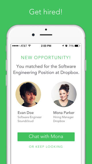 Job Discovery Apps - The Switch App Lets You Connect with Employers in the Style of Tinder