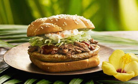 Tropical Hawaiian Burgers