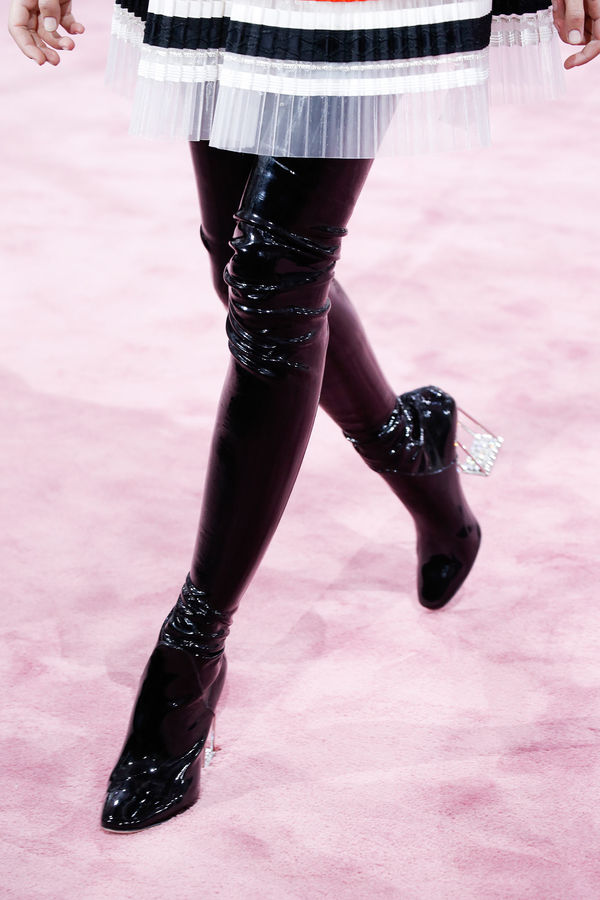 Sky High Vinyl Booties : Christian Dior