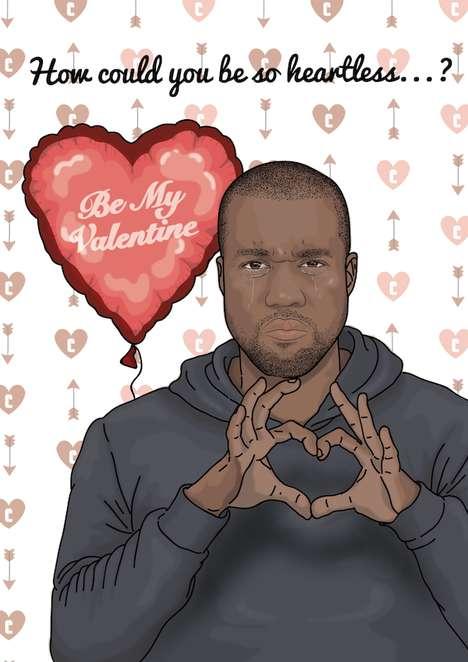 Rapper-Referencing Valentine Cards
