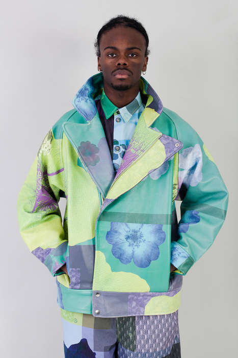 Botanical Biker Jackets