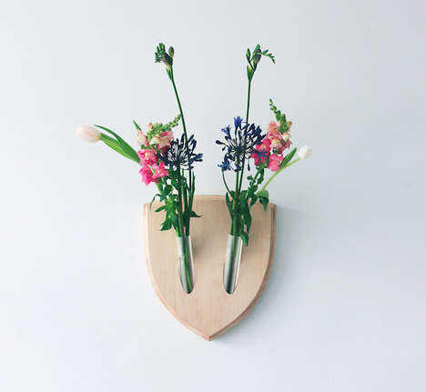Floral Faux Taxidermy