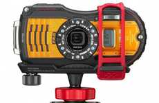 Weather-Resistant Cameras - The Pentax K-S2 is Designed to Battle the Elements