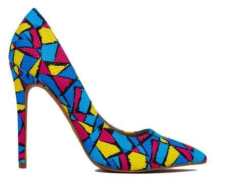 Graphic Pop Art Heels
